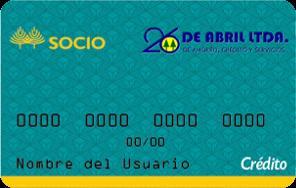 Tarjeta SOCIOCrédito