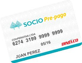Tarjeta SOCIOPrepago